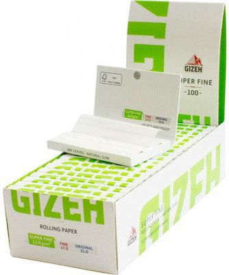 Бумага для самокруток Gizeh Magnet Super Fine 100 вид 2