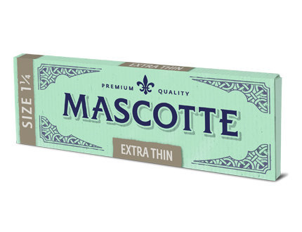 Бумага для самокруток Mascotte Extra Thin Size 1 1/4 вид 2
