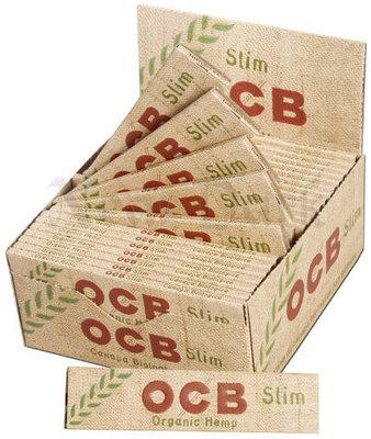 Бумага для самокруток OCB Slim Organiс вид 2