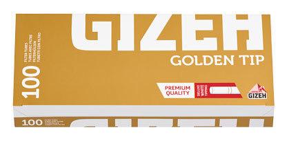 Гильзы для самокруток Gizeh Golden Tip 100 шт вид 1