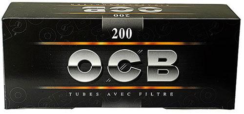 Гильзы для самокруток OCB Black 200 шт вид 1