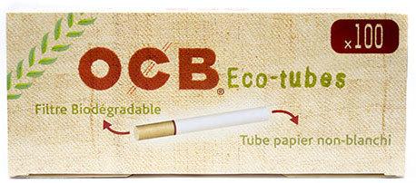 Гильзы для самокруток OCB Eco-Tubes 100 шт вид 1