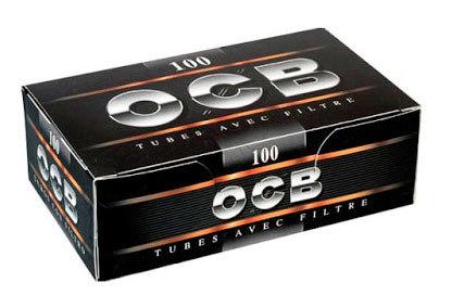 Гильзы для самокруток OCB Black 100 шт вид 1