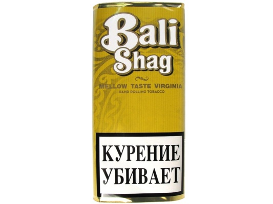 Сигаретный табак Bali Shag Mellow Virginia вид 1