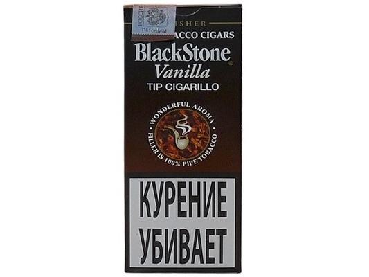 Сигариллы Black Stone Vanilla Tip вид 1