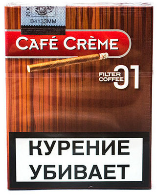 Сигариллы Cafe Creme Filter Coffee 01 вид 1