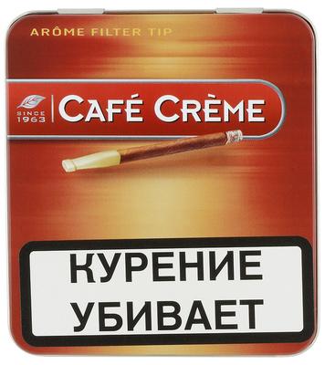 Сигариллы Cafe Creme Filter Tip Arome вид 1