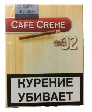 Сигариллы Cafe Creme Filter Vanilla 02 вид 1