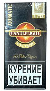 Сигариллы Candlelight Filter Aromatic 10 (шт.) вид 1