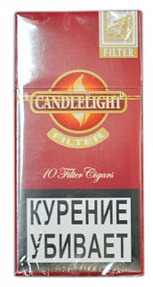 Сигариллы Candlelight Filter Cherry 10 (шт.) вид 1