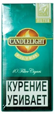 Сигариллы Candlelight Filter Menthol 10 (шт.) вид 1