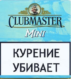 Сигариллы Clubmaster Mini Superior Blue 10 шт. вид 1
