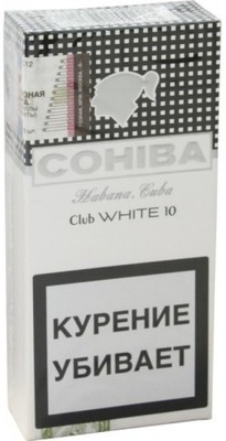 Сигариллы Cohiba Club White вид 1