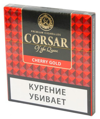 Сигариллы Corsar Mini of the Queen Cherry Gold вид 1