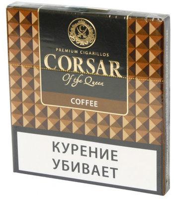 Сигариллы Corsar Mini of the Queen Coffee вид 1