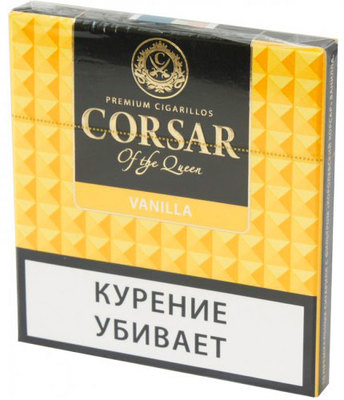 Сигариллы Corsar Mini of the Queen Vanilla вид 1