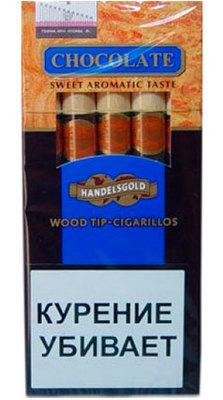 Сигариллы Handelsgold Chocolаte Wood Tip вид 1