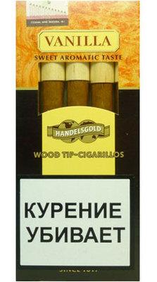 Сигариллы Handelsgold Vanilla Wood Tip вид 1