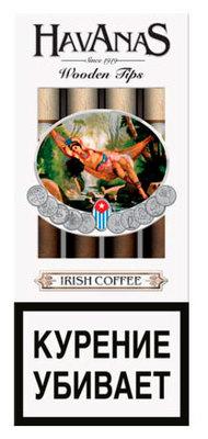 Сигариллы Havanas Wooden Tips Irish Coffee 4 шт. вид 1