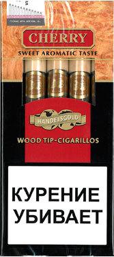 Сигариллы Handelsgold Cherry Wood Tip вид 1