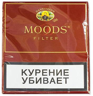Сигариллы Moods Filter 10 вид 1