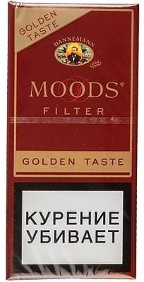 Сигариллы Moods Filter Golden 5 вид 1