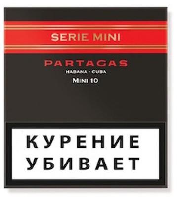 Сигариллы Partagas Mini Series вид 1