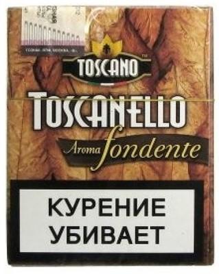 Сигариллы Toscano Toscanello Aroma Fondente вид 1