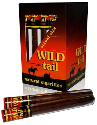 Сигариллы Wild Tail American Whiskey 25 шт. вид 2