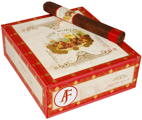 Сигары A. J. Fernandez New World Gobernador Toro вид 2