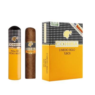 Сигары  Cohiba Medio Siglo Tubos вид 2