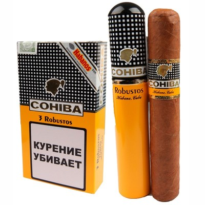 Сигары  Cohiba Robustos Tubos вид 3