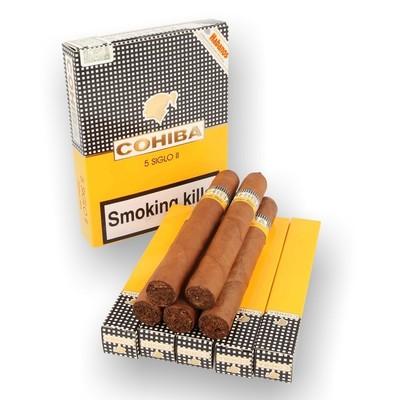 Сигары  Cohiba Siglo II вид 2