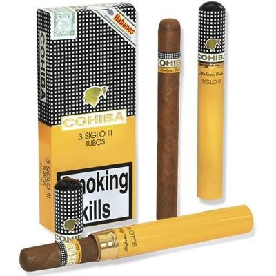 Сигары  Cohiba Siglo III Tubos вид 3