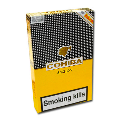 Сигары  Cohiba Siglo V вид 2