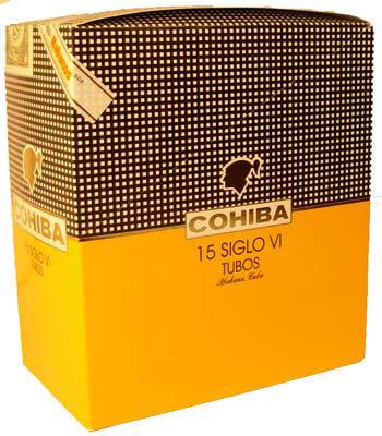 Сигары  Cohiba Siglo VI Tubos вид 3