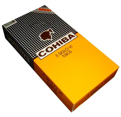 Сигары  Cohiba Siglo VI Tubos вид 2