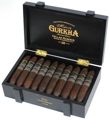 Сигары Gurkha Cellar Reserve Aged 15 Years Double Robusto Limited Edition вид 2