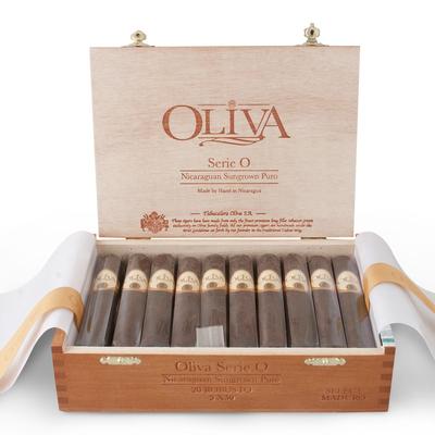 Сигары  Oliva Serie O Maduro Robusto вид 2
