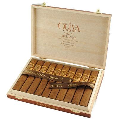 Сигары  Oliva Serie V Melanio Double Toro вид 2