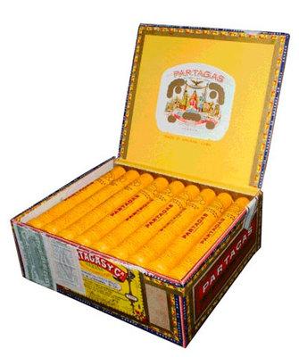 Сигары  Partagas De Luxe Tubos вид 2