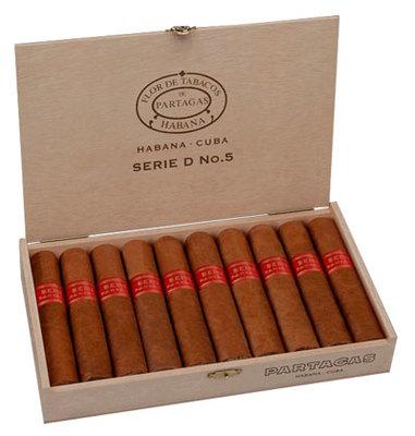 Сигары  Partagas Serie D No 5 вид 2