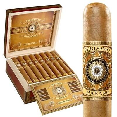 Сигары  Perdomo Habano Bourbon Barrel Aged Connecticut Gordo вид 2