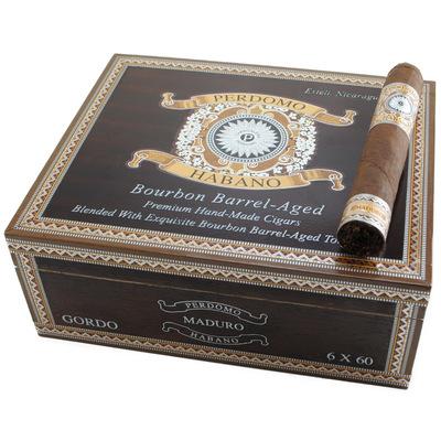 Сигары  Perdomo Habano Bourbon Barrel Aged Maduro Gordo вид 2