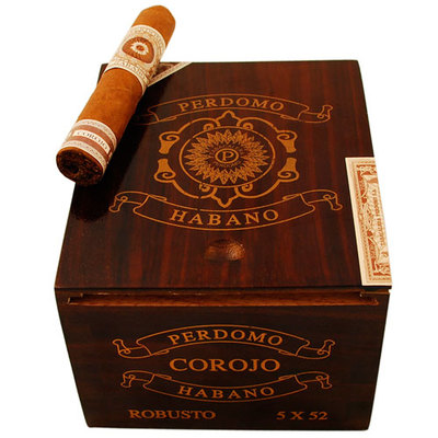 Сигары  Perdomo Habano Corojo Robusto вид 2