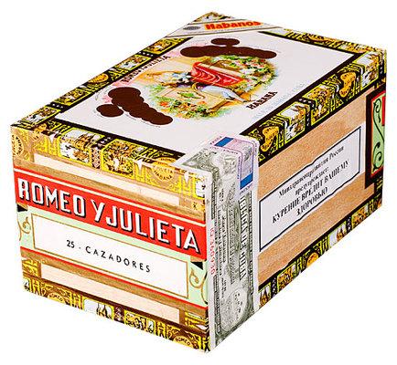 Сигары  Romeo y Julieta Cazadores вид 2