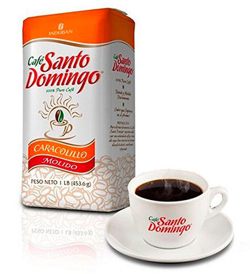 Доминиканский Кофе Молотый Santo Domingo Caracolillo 454 гр. вид 1