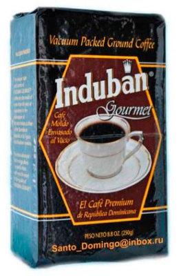 Доминиканский Кофе Молотый Santo Domingo Induban 250 гр. вид 1