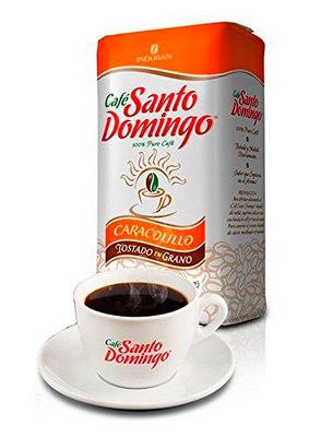 Доминиканский Кофе в зернах Santo Domingo Caracolillo 454 гр. вид 1
