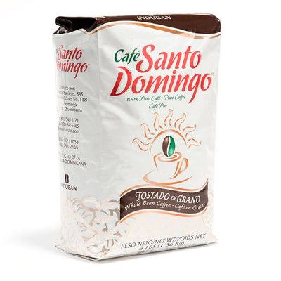 Доминиканский Кофе в Зернах Santo Domingo 1360 гр. вид 1